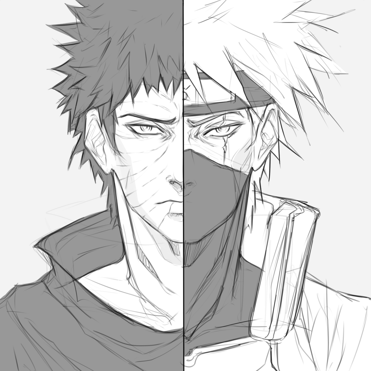 Naruto Drawings: Kakashi Drawing At GetDrawings.com