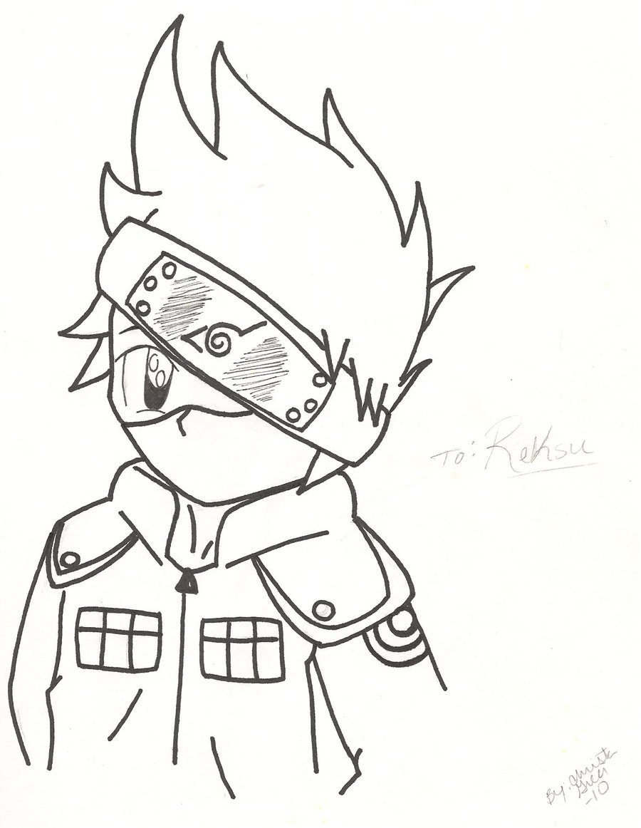 900x1162 Drawing Anime Naruto Drawing Anime Naruto Chibi Chibi Kakashi