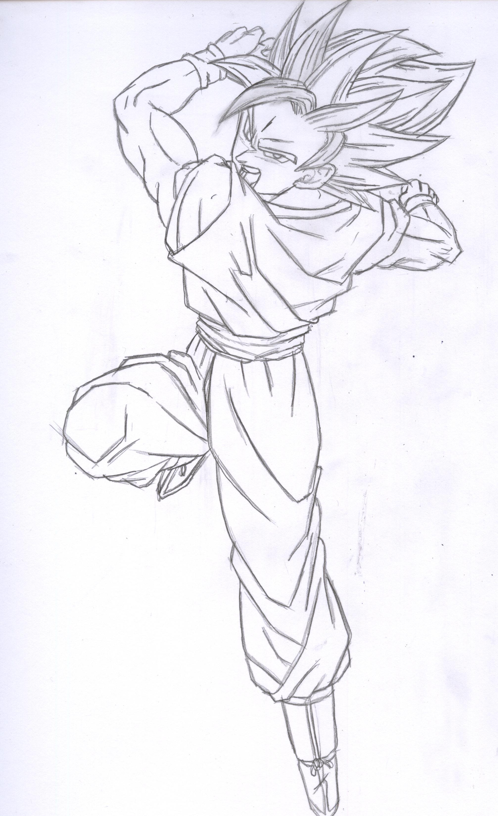 2013x3300 How To Draw Kakashi Dragon Art
