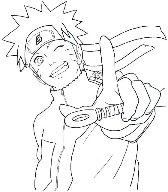560x642 How To Draw Naruto Uzumaki Step By Step Drawing Tutorial Anime