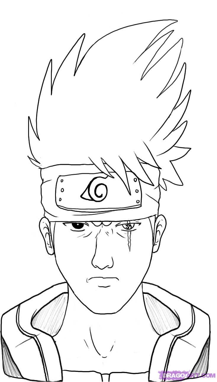 733x1289 Anime Drawing Easy Naruto