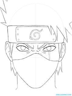 236x315 How To Draw Kakashi Easy Step 3 Naruto Kakashi