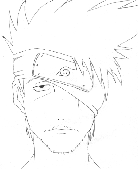 450x553 Kakashi Without His Mask By Tootaa18
