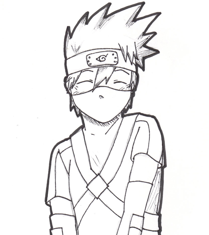 842x948 Kid Kakashi By Kureiji Otaku