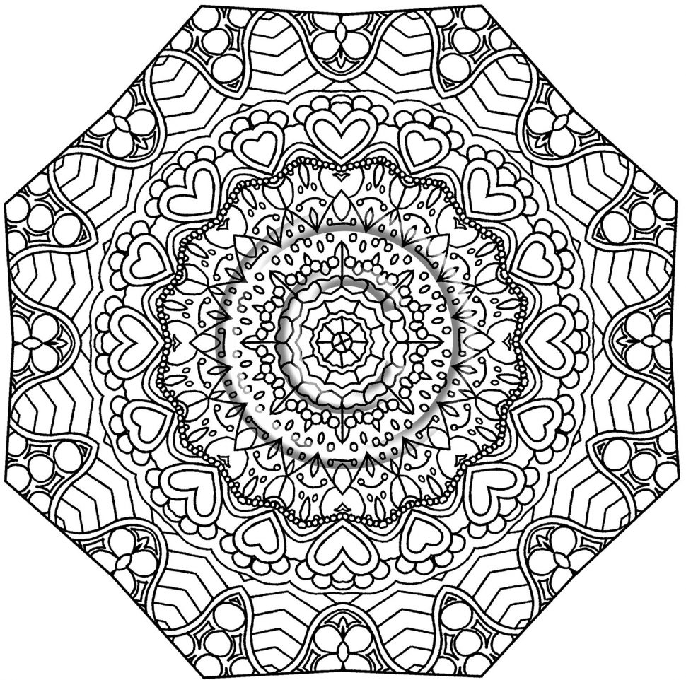 970x962 Coloring Kaleidoscope Coloring Book Adult Books Wonders