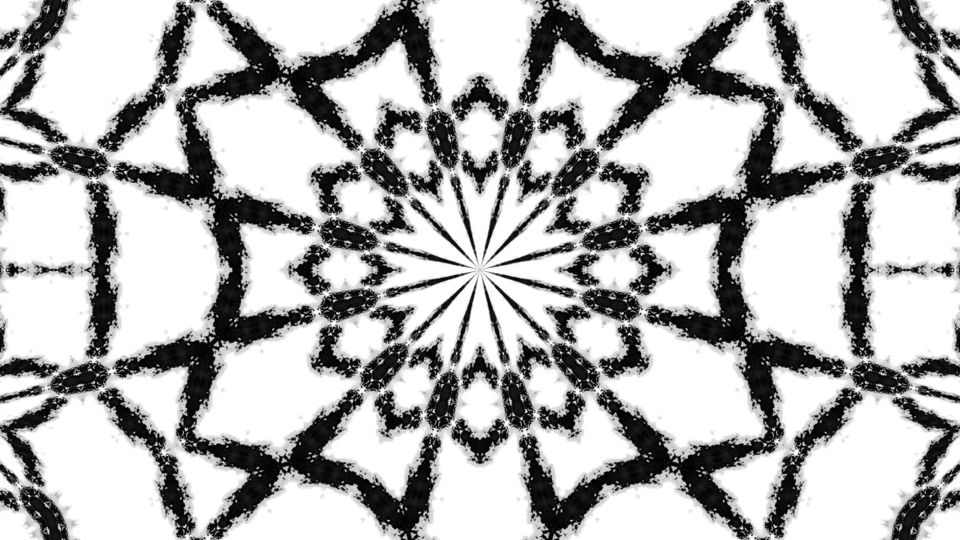 1920x1080 Kaleido Ink Rorschach. A Kaleidoscope Of Ink Blots Dropping Into