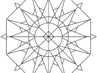 200x150 Kaleidoscope Coloring Pages Inspirational Awesome Kaleidoscope