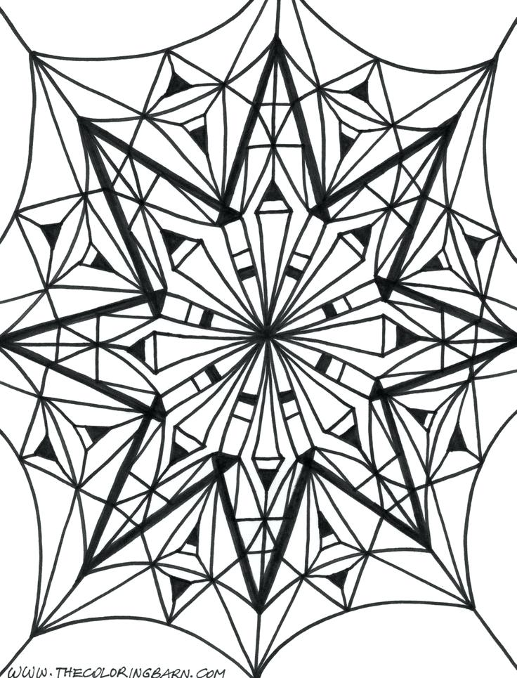 736x965 Kaleidoscope Coloring Pages Kaleidoscope Coloring Pages