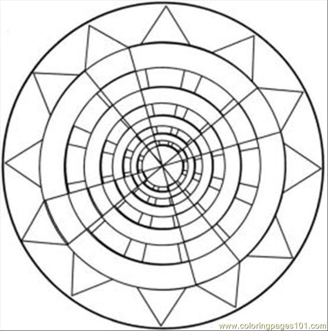 650x657 Kaleidoscope Coloring Pages For Adults Find Awesome Coloring Pages