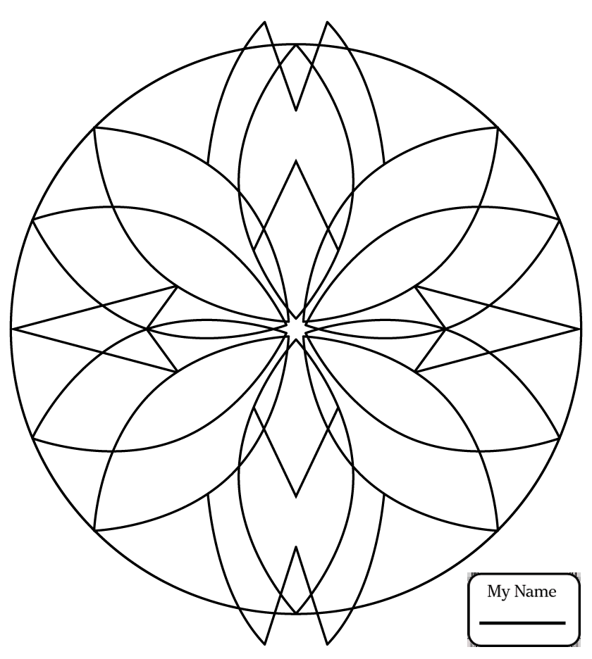840x936 Coloring Pages Arts Culture Kaleidoscope