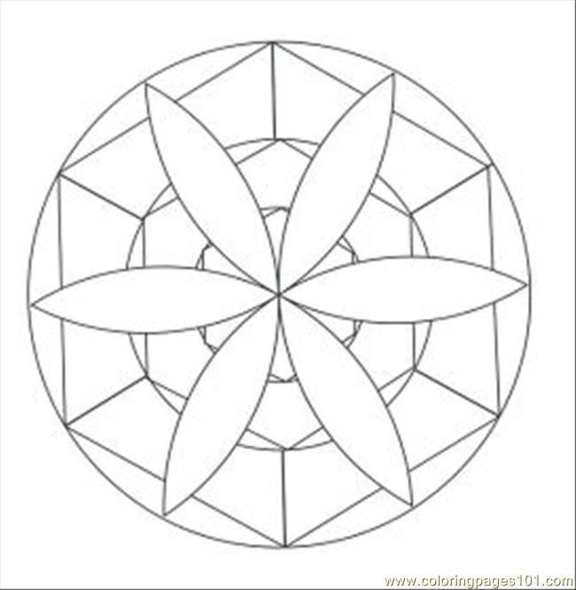 650x666 Breathtaking Kaleidoscope Coloring Pages 75 On Coloring For Kids
