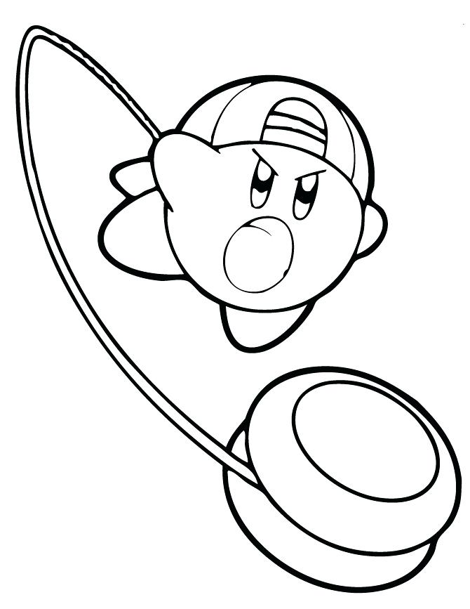 670x867 Kirby Coloring Pages Coloring Pages For Kids Kirby Kangaroo