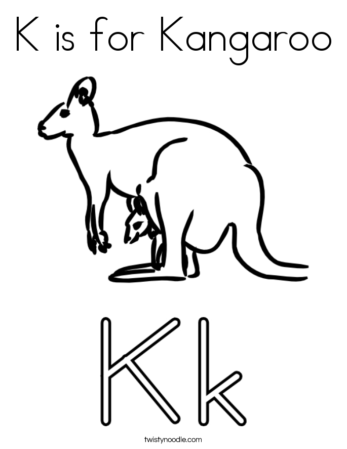 685x886 Popular Kangaroo Coloring Pages Cool Book Gall