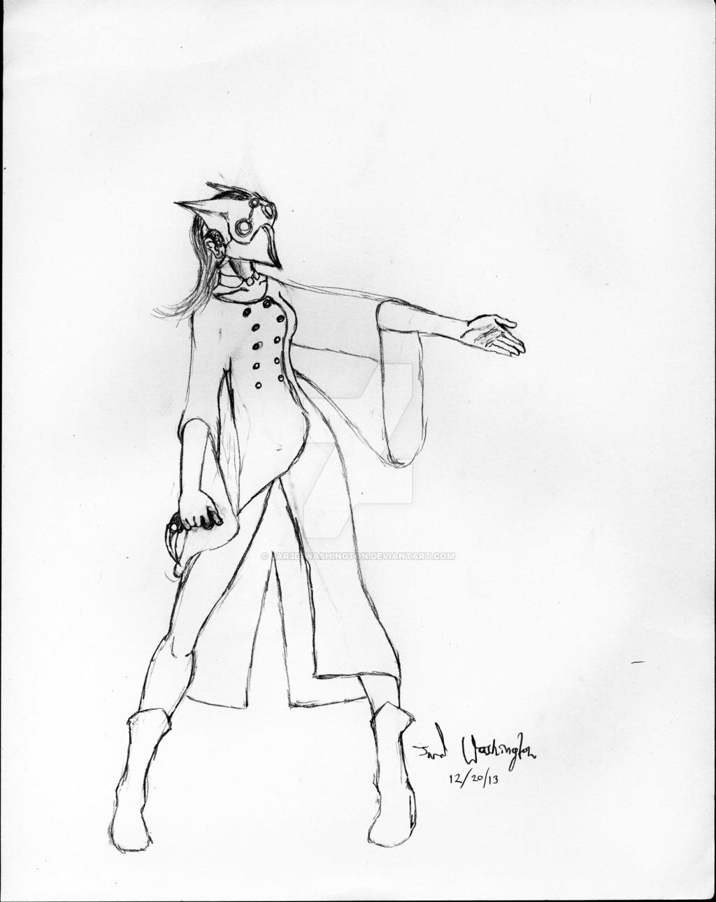 1024x1290 Masked Karambit(Female Counterpart) By Jar3d Washington