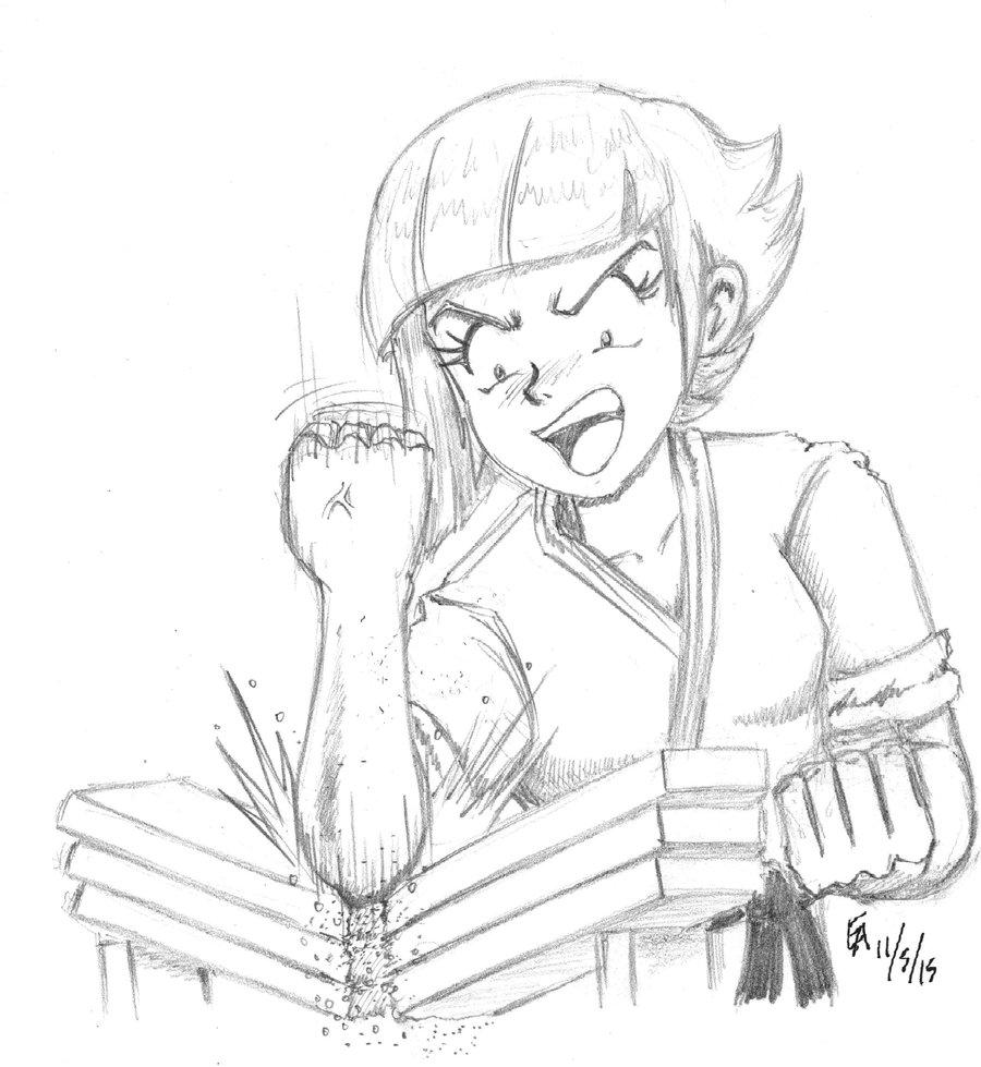 Karate Drawing