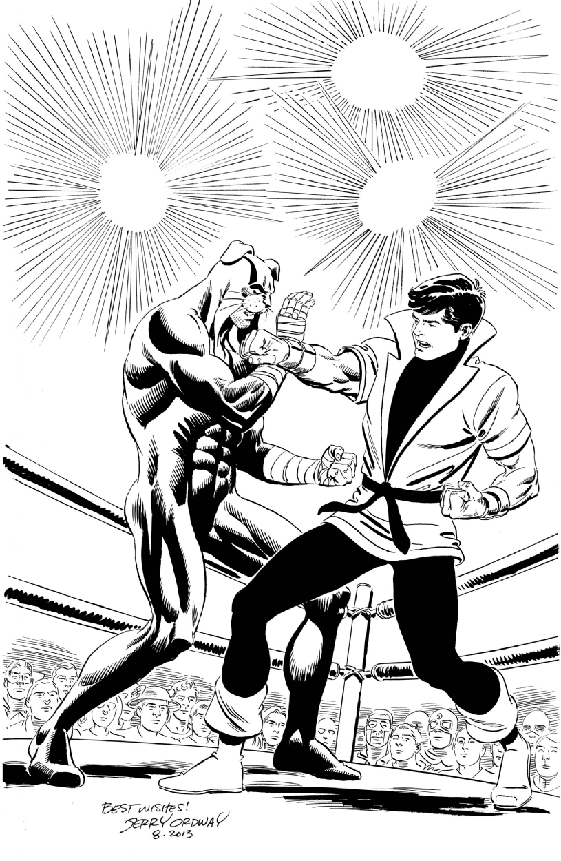 815x1250 Karate Kid Vs. Wildcat By Jerry Ordway, In Travis Ellisor's Karate