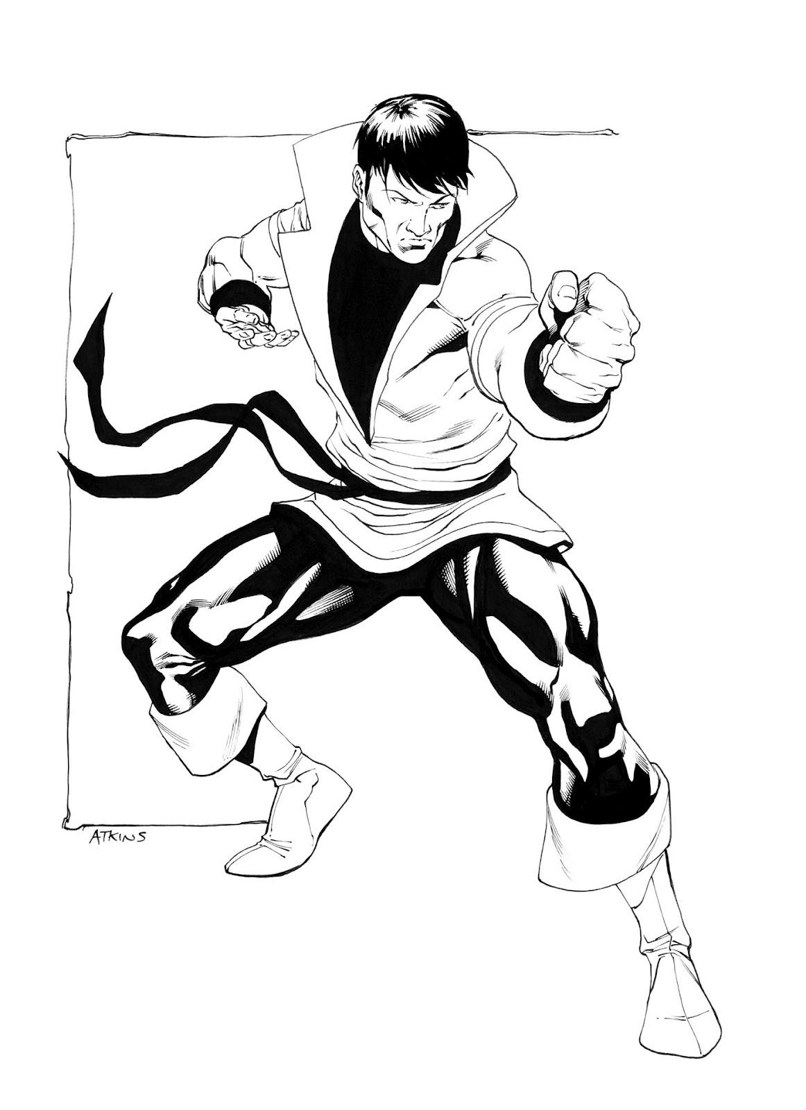 1162x1600 Robert Atkins Art Karate Kid Losh Karate Kid