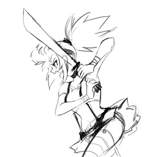 320x322 Swordfight Drawings On Paigeeworld. Pictures Of Swordfight