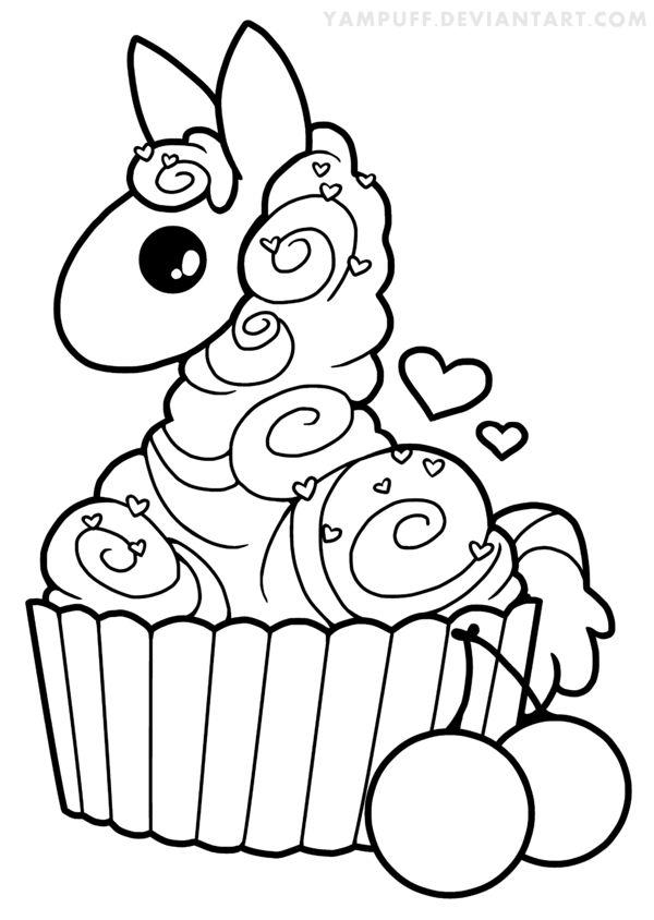 Kawaii Alpaca Drawing at GetDrawings | Free download