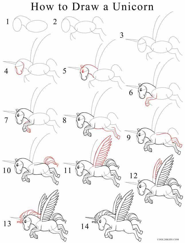 645x850 The Best How To Draw Unicorn Ideas On Unicorn