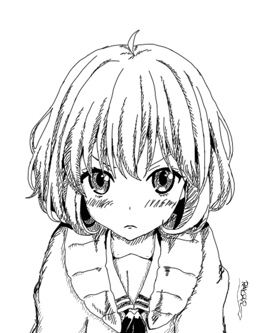 906x1122 Anime Girl Mad By Rayshar