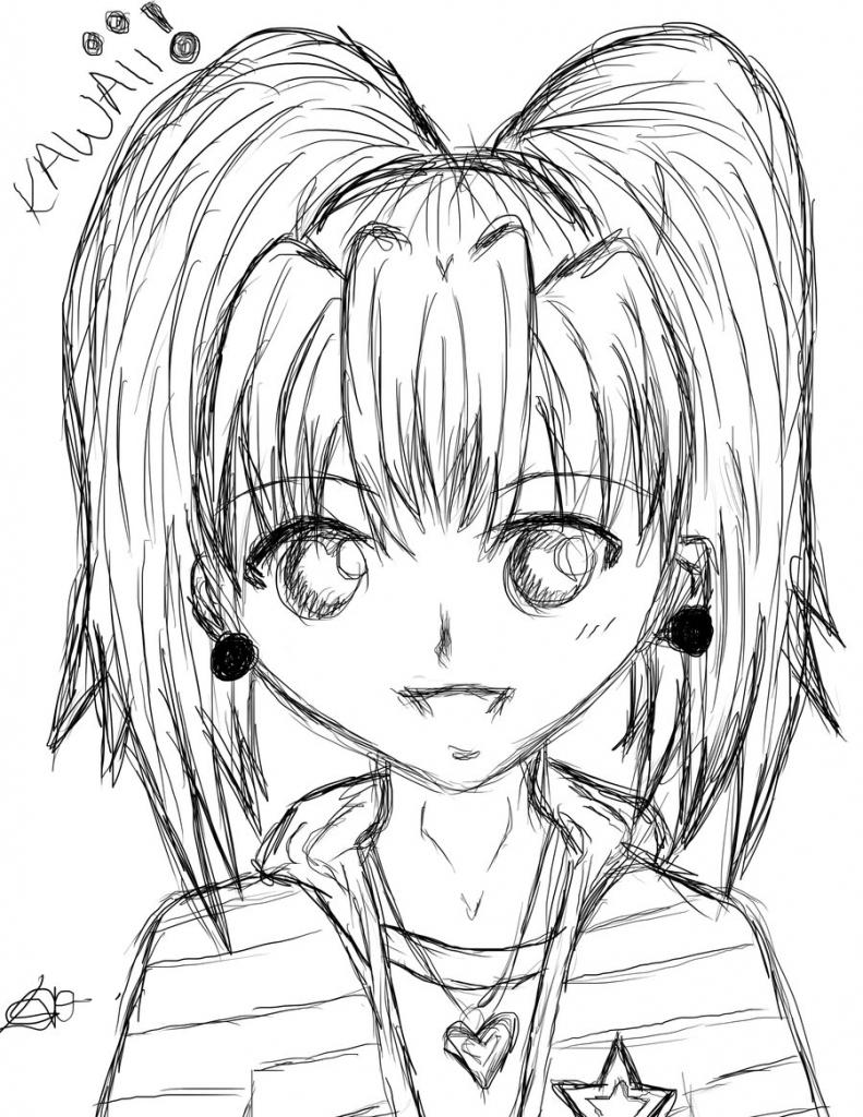 791x1024 Kawaii Anime Drawing Anime Girl Kawaiicelestialmaho