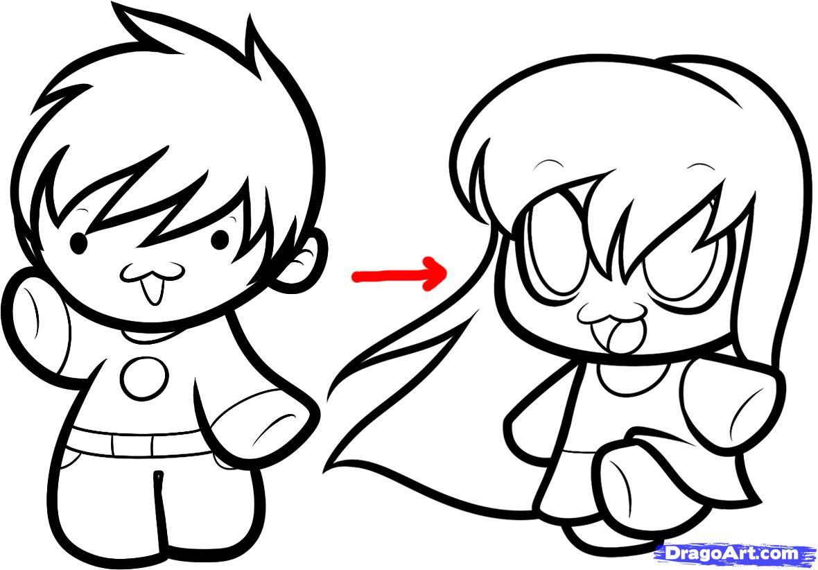 1180x822 Kawaii Anime Drawing How To Draw Kawaii People, Stepstep, Chibis