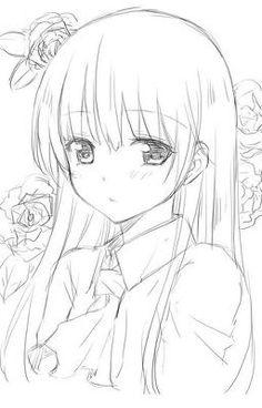 236x368 Cute Anime Pencile Sketch