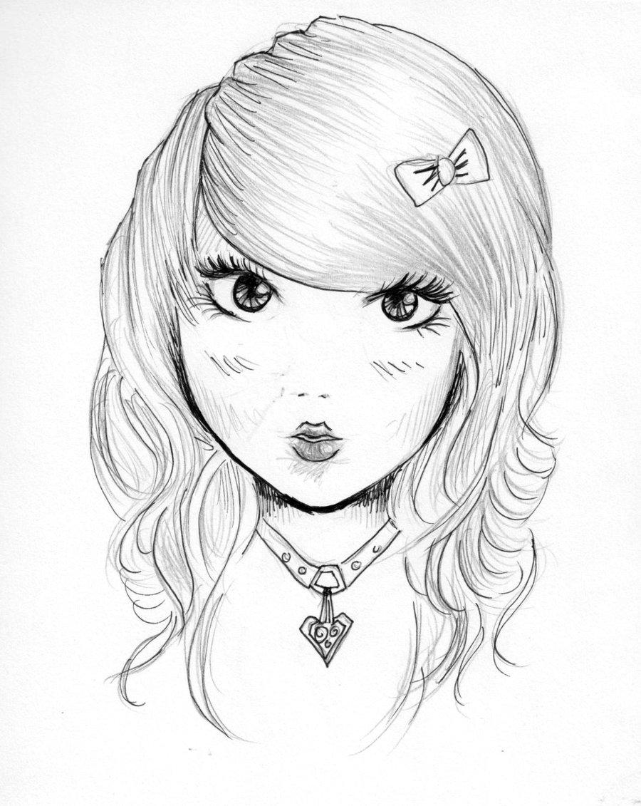 900x1131 Kawaii Girl By Fantasy Flower
