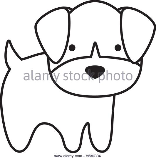 531x540 Cute Dog Kawaii Style Vector Stock Photos Amp Cute Dog Kawaii Style