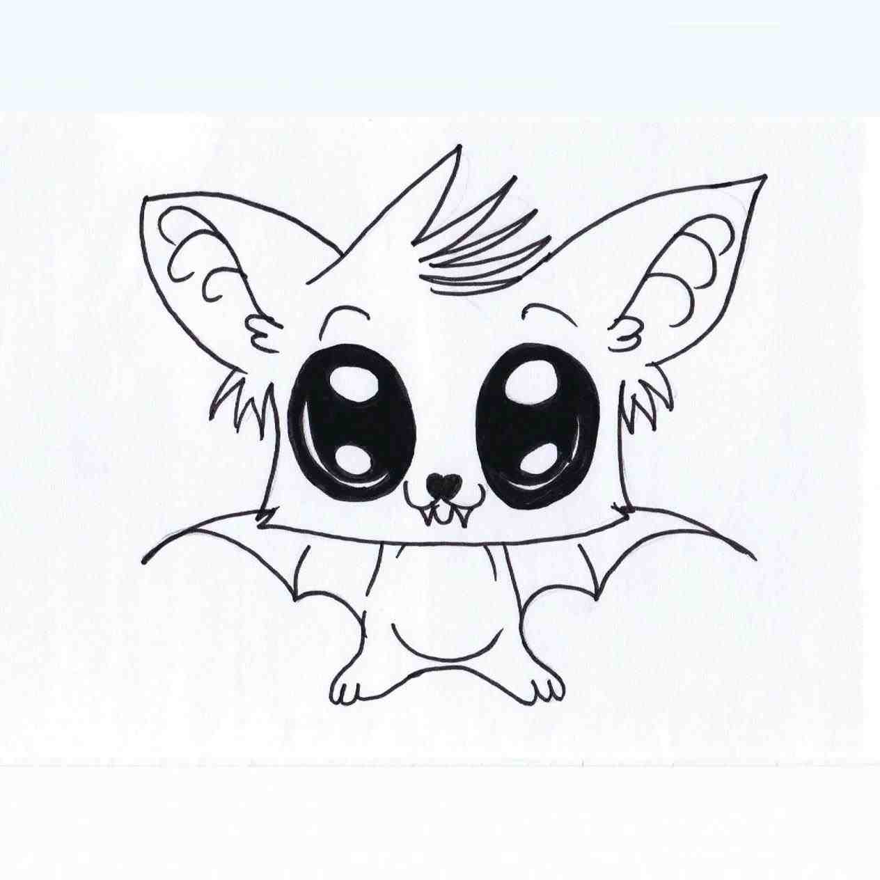 Image of: Gifs 1264x1264 The Images Collection Of Tumblr Simple Sketches Best Halloween Icontrolapp Kawaii Drawing At Getdrawingscom Free For Personal Use Kawaii