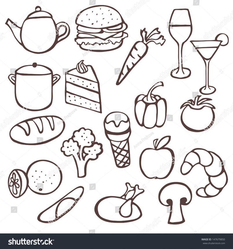 805x859 Drawing Cute Drawings Food And Drinks Plus Cute Drawings