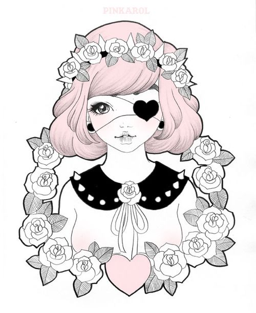 500x612 Best Images About Kawaii Things On Pastel Goth Art