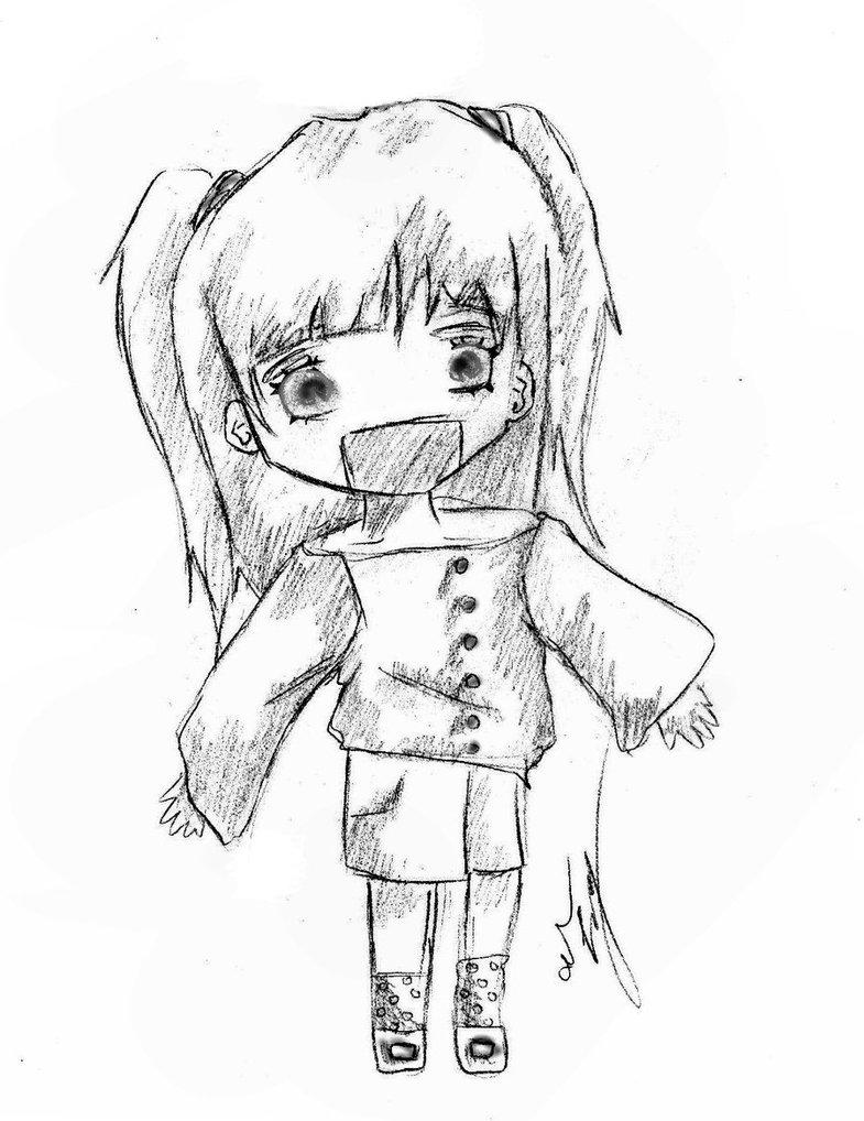 785x1018 Kawaii Chibi Girl By Allyanime