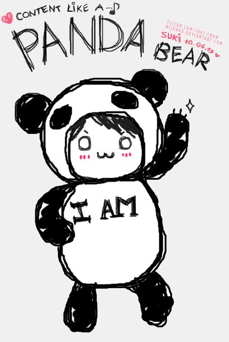 450x672 Panda Bear. By Nijuuku