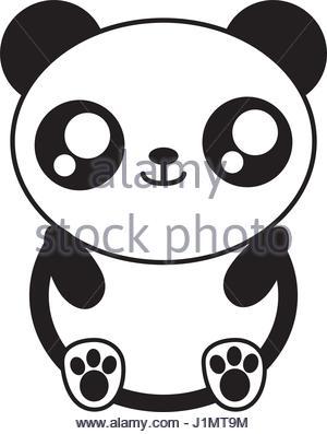 300x397 Kawaii Panda Bear Icon Stock Vector Art Amp Illustration, Vector