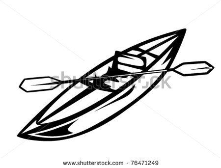 Kayak Drawing