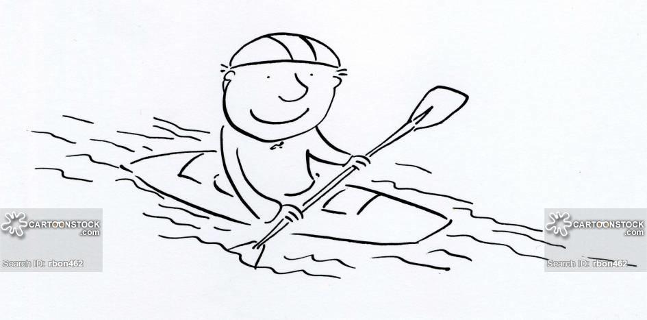945x467 Kayak Cartoons And Comics
