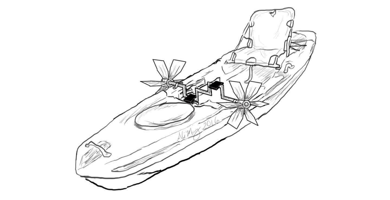 1440x737 Custom Pelican Kayak Modification