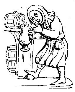 254x313 Feast For The Eyes 11. Tapping Keg Drawing Based On