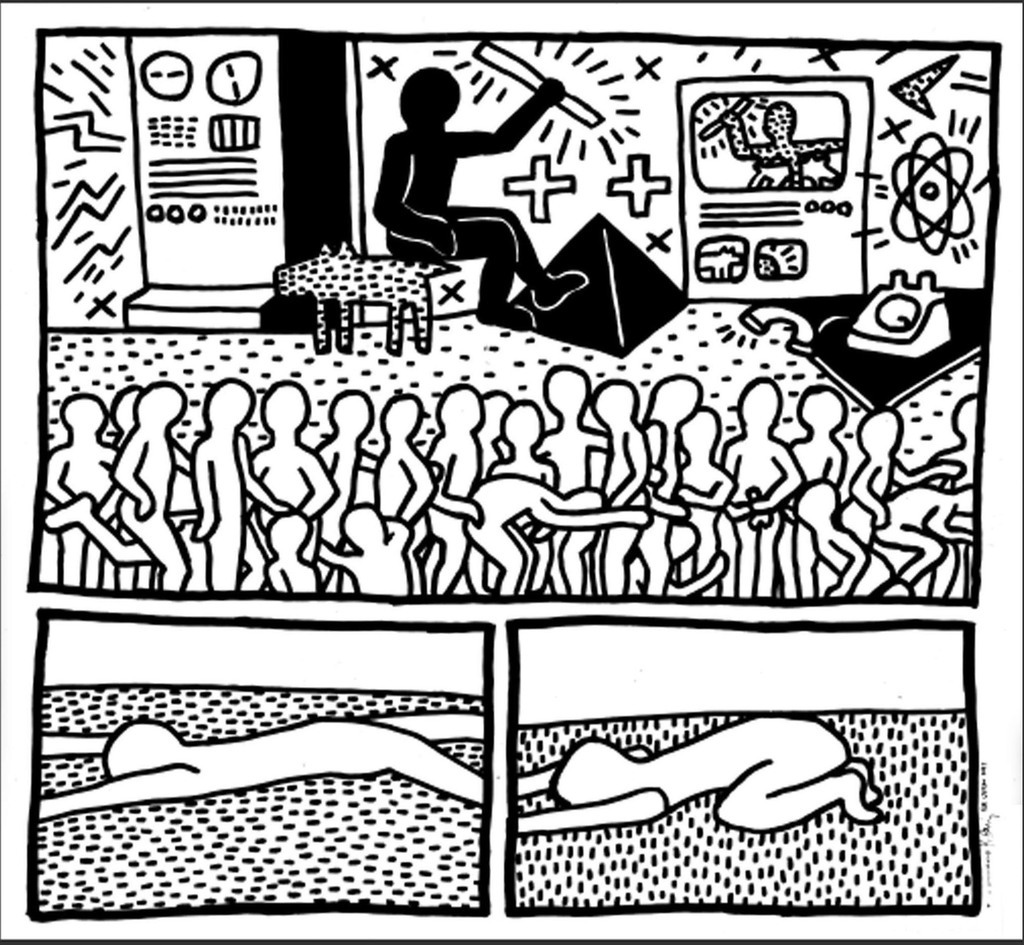 1024x945 Keith Haring For Stefan Eins