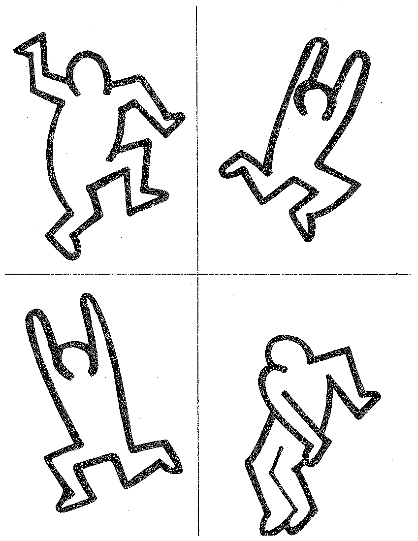 849x1099 Keith Haring Figures