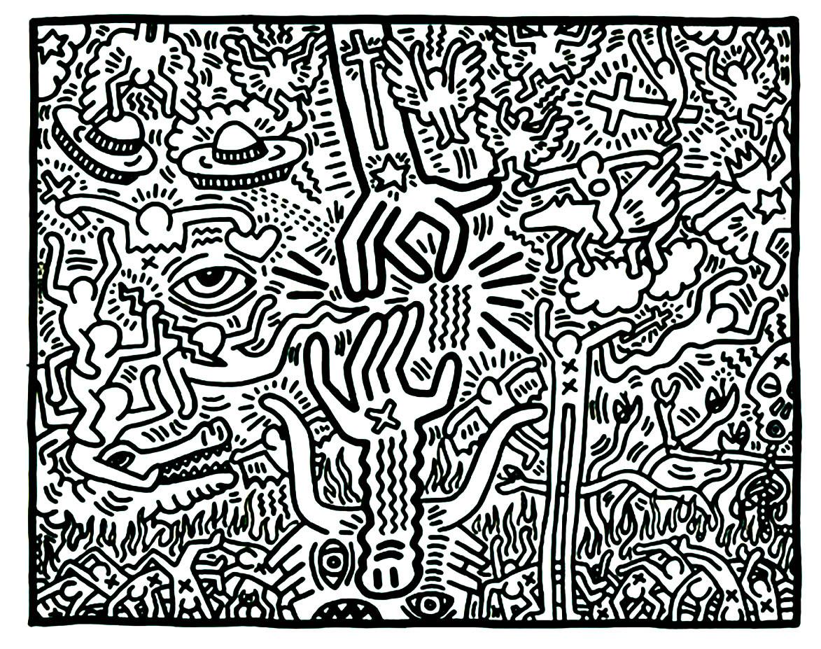 1173x927 Keith Haring Pop Art