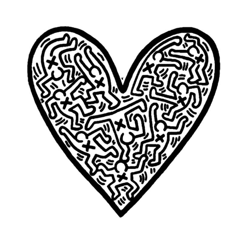 818x818 Keith Haring 53642 Keith Haring