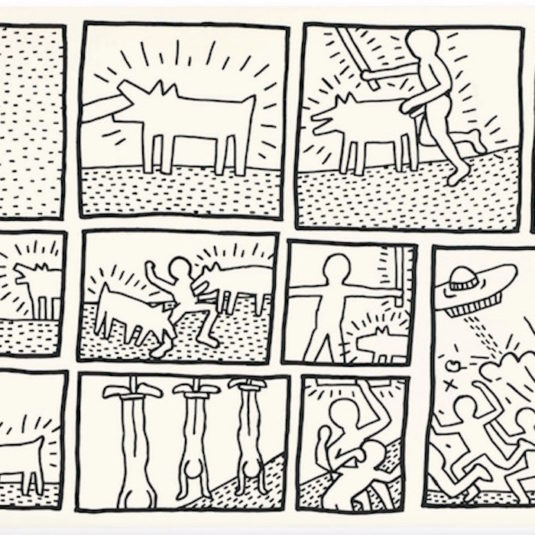 535x535 The Blueprint Drawings By Keith Haring