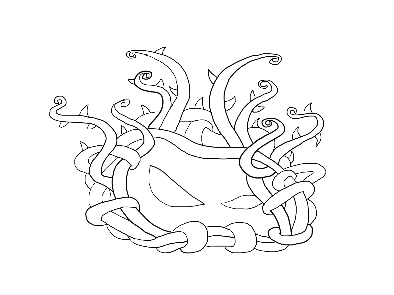 3000x2250 Tangle Kelp Plants Vs Zombies 2 How To Draw