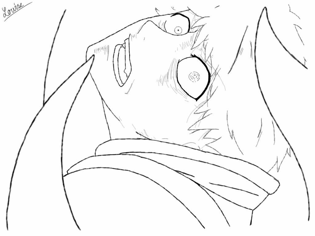1024x768 Kaneki Ken By Brinetadrawings