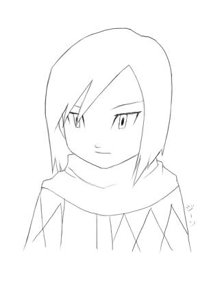 324x411 Ken Ichijouji Sketch By Stardroidjean