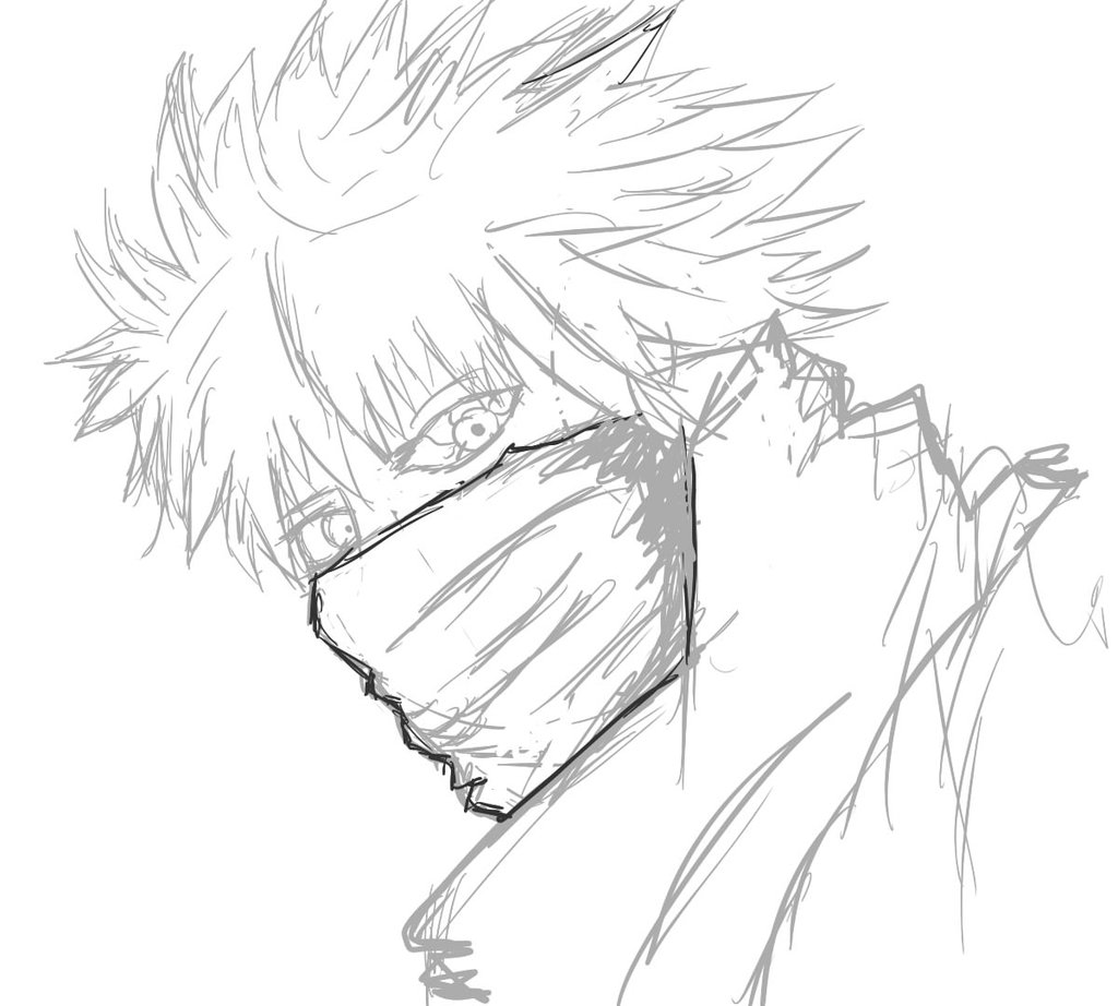 1024x922 Ken Kaneki Sketch Aka Thee Eyed King By Sebas Zero