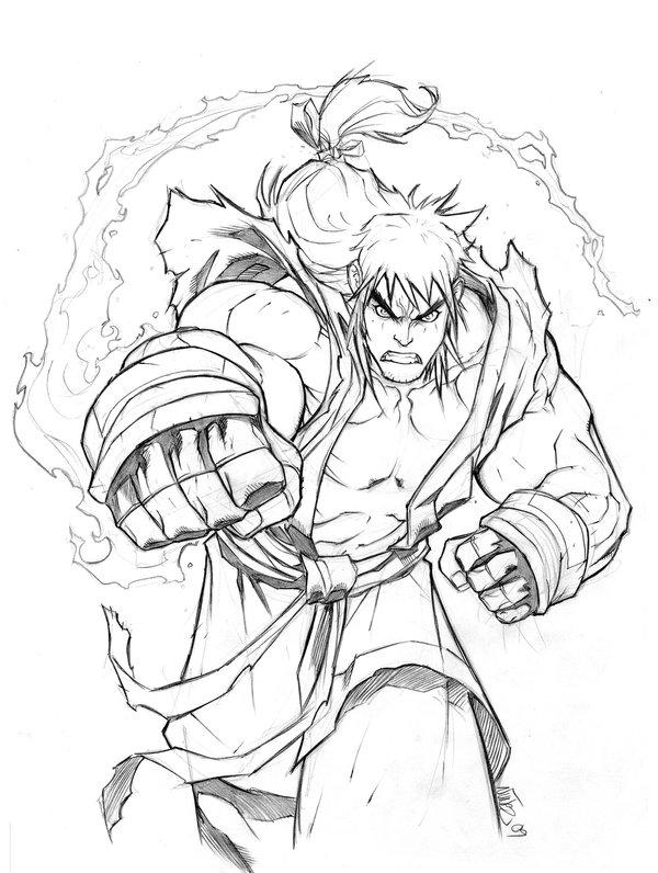 600x796 Ken Masters By Miacabrera